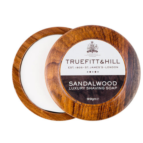 Truefitt and Hill Shave Soap With Bowl - Sandalwood - 99g