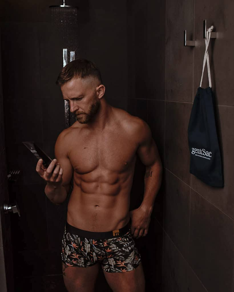 Body care products for guys